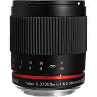 Samyang Reflex 300mm f/6.3 ED UMC CS Lens for Canon EF-M (Black)