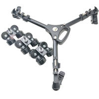 Glide Gear SYL-960 Elite Camera Track Dolly Hybrid with Swivel and Slide Wheels