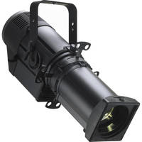 Strand Lighting PLPROFILE4 LED Luminaire Fixture with Axial Ellipsoidal 14° Fixed Beam Lens (Black)