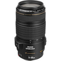 Canon EF 0345B002 70-300mm f/4-5.6 IS USM Telephoto Zoom Lens - Refurbished