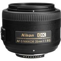 Nikon AF-S DX NIKKOR 35mm f/1.8G Lens Deals