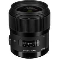 Sigma 35mm f/1.4 DG HSM Art Lens for Pentax DSLR Cameras