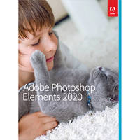 Adobe Photoshop Elements 2020 (DVD, Mac/Windows)