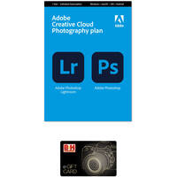 Deals on Adobe Creative Cloud Photography Plan w/20GB Storage and $20 GC