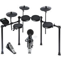 Alesis Nitro Electronic Drum Set + On-Stage MDT2 Double-Braced Drum Throne