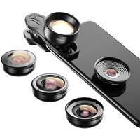 Apexel 4K HD Mobile Phone 5-in-1 Camera Lens Kit