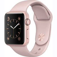 Apple Watch Series 1 38mm Aluminum Case with Sport Band (Pink)