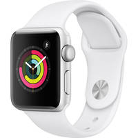 Apple Watch Series 3 38mm GPS Only Smartwatch (Silver)