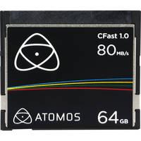 Atomos ATOMCFT064 64GB 1333x CFast Card