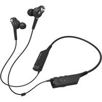 AudioTechnica ATH-ANC40BT In-Ear Wireless Bluetooth Headphones (Black)