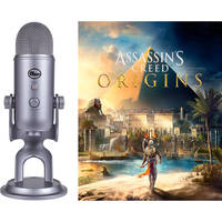 Blue Yeti USB Condenser Microphone + Assassin's Creed Origins Bundle