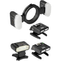 Bolt Macro Ring Flash w/Additional Transceiver and Flash Kit Deals
