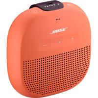 Bose SoundLink Micro Bluetooth Speaker (Bright Orange with Dark Plum Strap)