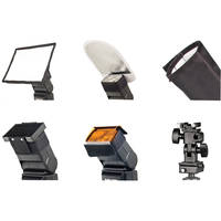 Bower SFD06 6 In1 Digital Flash Lighting Kit (Black)