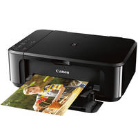 Canon PIXMA MG3620 Wireless Inkjet All-In-One Printer with Duplex (Black) - New Open Box
