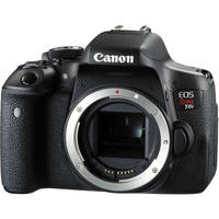 Canon EOS Rebel T6i 24MP HD Digital SLR Camera Body with 16x Optical Zoom - Black