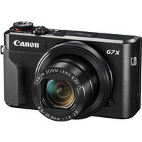 Canon PowerShot G7 X Mark II 20.1MP Full HD 1080p Wi-Fi Digital Camera with 4x Optical Zoom (Black)
