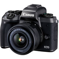 Deals on Canon EOS M5 Mirrorless Digital Camera with 15-45mm Lens