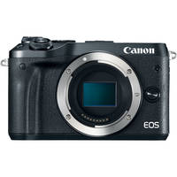 Canon EOS M6 24.2MP Full HD 1080p Mirrorless Digital Camera Body (Black)