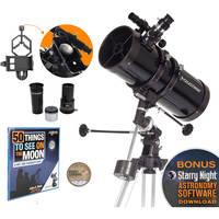 Deals on Celestron PowerSeeker 127EQ 127mm f/9 Reflector Telescope