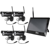 Deals on Wireless Prime 10-in Touchscreen DVR & 4 1080p Wireless Camera