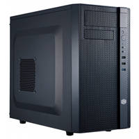 Cooler Master N200 Mini Tower Computer Case with Front Radiator Support and Ventilated Front Panel