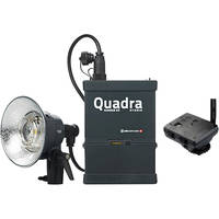 Elinchrom Quadra Living Light Kit with Lead Battery S Head and Transmitter