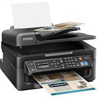 Epson WorkForce WF-2630 Wireless Monochrome Inkjet All-in-One Printer with Duplex (Black)
