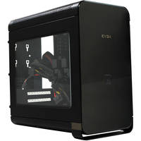 EVGA 110-MA-1001-K1 Mini-ITX Tower Computer Case Chassis with Power Supply