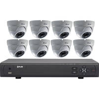 Deals on FLIR MPX 3100 Series 8-Channel DVR w/2TB HDD and 8 Dome Cameras