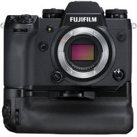Deals on FUJIFILM X-H1 Mirrorless Digital Camera Body w/Battery Grip Kit