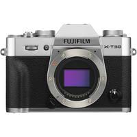 Fujifilm X-T30 26.1MP 4K Ultra HD Wi-Fi Mirrorless Digital Camera Body (Silver)