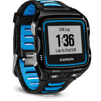 Garmin Forerunner 920XT Multisport GPS Watch (Black/Blue) - Manufacturer Refurbished