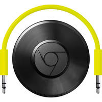 Google Chromecast Audio Wi-Fi Streaming (Black)