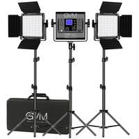 GVM 800D-RGB LED Studio 3-Video Light Kit Deals