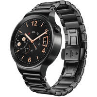 Huawei Black Stainless Steel Watch with Link Band - New Open Box
