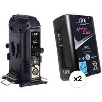 Deals on IDX System Technology CUE-D150 147Wh V-Mount 2-Battery Kit