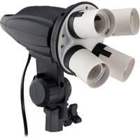 Deals on Impact 4 Socket Fluorescent Fixture FF-S4