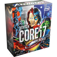 Intel Core i7-10700K 3.8 GHz Eight-Core LGA 1200 Processor (Marvel Avengers Special Edition) + Intel Gift - Crysis Remastered G