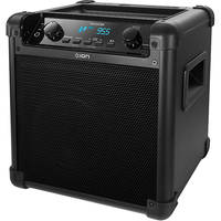 Ion Audio Tailgater iPA77 Wireless Bluetooth PA Rechargeable Speaker with Mic, AM/FM Radio and USB Charge Port