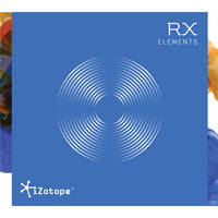 iZotope RX Elements Audio Restoration and Enhancement Software (Download)