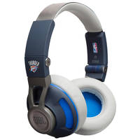 JBL Synchros S300 NBA Edition On-Ear 3.5mm Wired Headphones (OKC Thunder)