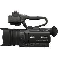 JVC 4K UHD Professional Camcorder w/Top Handle Audio