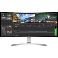 Deals on LG 34CB99-W 34-inch 21:9 UltraWide Curved IPS Monitor