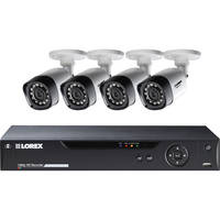 Lorex 8Ch. 4 Bullet Camera Security System