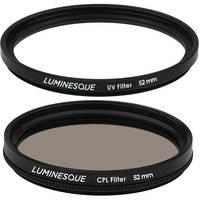 Luminesque 52mm Circular Polarizer and UV Slim PRO Filter Kit Deals