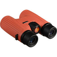 Lunt Solar Systems 8x32 Roof/Dach Prism Binocular (Red) + 5 Pk. Lunt Solar Systems Viewing Glasses