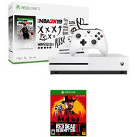 Microsoft Xbox One S 1TB NBA 2K19 Console + Shadow of the Tomb Raider + Xbox Wireless Controller