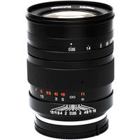 Mitakon Zhongyi Speedmaster 50mm f/0.95 Lens for Sony E-Mount (Black) + Mitakon Zhongyi Lens Hood