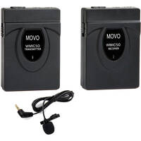 Deals on Movo Photo WMIC50 Camera-Mount Wireless Lavalier Microphone System